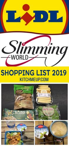 Lidl Slimming World Free Food and Low Syn shopping list astuce recette minceur girl world world recipes world snacks Slimming World Free List, Slimming World Meal Prep, Slimming World Shopping List, Slimming World Survival, Slimming World Recipes Syn Free, My Slimming World, Slimming Eats, Healthy Shopping, Shopping Lists