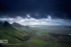 sunrise at quiraing by melchiorre_pizzitola  Wildlife Photograph Wildlife Pics landscape nature nature images nature photograph