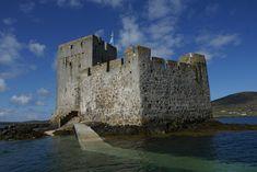 Ancestral castle (Kisimul Castle, Isle of Barra, Scotland)