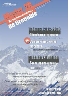 Mathématiques fondamentales de Grenoble (2012-2013)