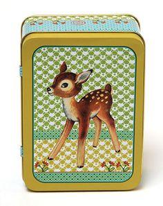 Blikken doos Bambi