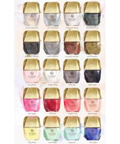 Kendra Scott - Gemstone Nail Lacquer | Kendra Scott now makes nail polish, and it will be your newest accessory. #refinery29 http://www.refinery29.com/2016/08/121143/kendra-scott-nail-polish-collection