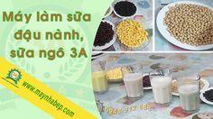 Máy làm sữa đậu nành: sữa thơm, không ngái, không lắng cặn