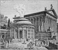 Trattato generale di archeologia257 - Temple de Vesta (Rome) — Wikipédia