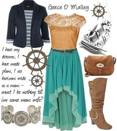 Grace/GráinneO Malley inspired outfit from The Pirate Queen.