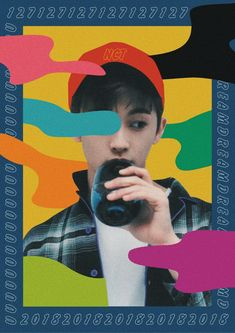 Graphic Design Posters, Graphic Design Inspiration, Nct 127, Kpop Posters, Nct Life, Mark Nct, Jaehyun Nct, Aesthetic Art, Nct Dream