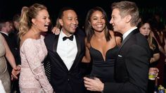 Jeremy Renner - Golden Globes 2015 after party.