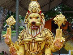 Lion God