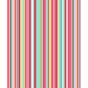 Quilter's Flannel Stripe Fabric, Blue/Pink