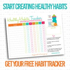 Habits A bad habit is a habit considered undesirable. Bad Habit(s) may also refer to: Diet Planner, Fitness Planner, Printable Planner, Free Printables, Create 365 Happy Planner, Healthy Habits, Healthy Recipes, Fitness Tracker, Physical Fitness