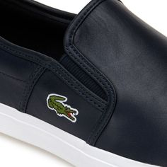 Subtle details such as the concealed elastic bands on these leather slip-ons put a smile on your face. Casual, urban style that will get you noticed. Winter Sale, Fall Winter, Urban Style, Leather Slip Ons, Urban Fashion, Lacoste, Bands, Smile, Sneakers