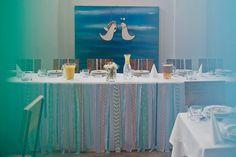 Wilga i Kruk: Impression of blue&mint