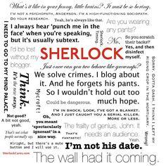 Greatest Sherlock quotes