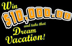 Win $10,000.00 and take that dream vacation. Free contest entry for PCH Giveaway #3727 to win cash for a dream getaway.