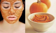 Fabulous Face Mask for the DIY Girl - Homeade Pumpkin Face Mask!  I Made This Up Last Night And Added A Bit Of Brown Sugar For Exfoliation & Cranberry Juice 4 Oily Skin.  It Smells Sooo Good! :)