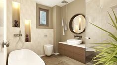 Design Projects, Bathroom Lighting, Architecture Design, Budget, Interior Design, Mirror, Medium, Furniture, Home Decor