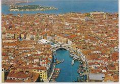 Venice Italy - Venezia, Rialto Bridge and Grand Canal