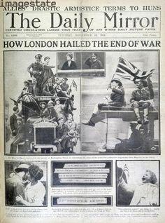 London celebrates end of World War 1