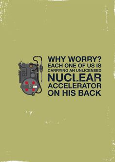 Why worry by Paul Mullen (Ghostbusters)