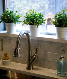10 Sensible Cool Tips: Formica Counter Tops Faux Granite metal counter tops chairs. Herb Garden In Kitchen, Kitchen Plants, Herbs Garden, Kitchen Sink Window, Bathroom Windows, Kitchen Windows, Faux Granite, Cheap Countertops, Granite Countertops