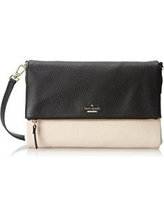 Color-block bag in pebbled leather featuring gold-tone hardware and cross-body  strap. d486bff507