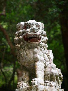 Komainu Kifune-jinja #japan #kyoto