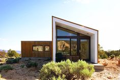 Corten-clad desert home overlooks some of the world's most impressive rock formations | Inhabitat - Sustainable Design Innovation, Eco Architecture, Green Building