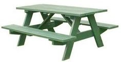 Free Picnic Table Plans - This is one we built!