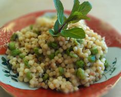 Fresh peas and mint from your garden create a lovely summer orzo pasta ...