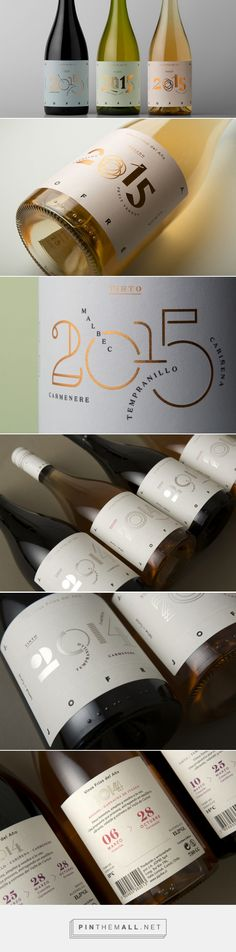 Vinos Frios del Año — The Dieline - Branding & Packaging... - a grouped images picture - Pin Them All