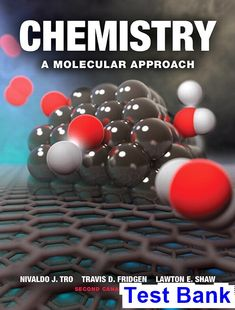 Chemistry A Molecular Approach Canadian 2nd Edition Tro Test Bank Solutions Manual Test Bank Instant Download Test Bank Molecular Chemistry