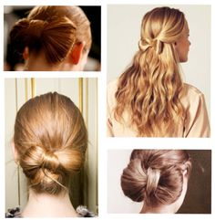 Hairstyle: Bow Bun