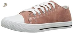 Qupid Women's Narnia-01 Fashion Sneaker, Mauve Suede, 10 M US - Qupid sneakers for women (*Amazon Partner-Link)