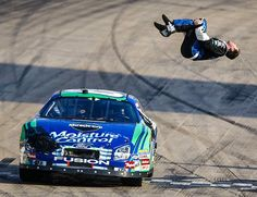 Carl Edwards! That blackflip! Hope to see him do this a lot this race season