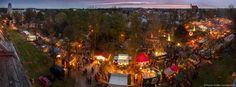 schönebeck salzelmen lichterfest | Lichterfest im Kurpark Bad Salzelmen - Panoramaaufnahme vom ...