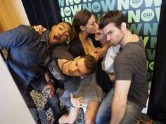 The Originals: Charles Michael Davis, Joseph Morgan, Phoebe Tonkin, Claire Holt & Daniel Gillies