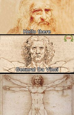 General Da Vinci The Effective Pictures We Offer You About music Nerd Humor A quality picture can tell you many things. You can find the most beautiful pictures that can be presented to you about Nerd Star Wars Meme, Star Wars Witze, Dankest Memes, Funny Memes, Funny Videos, Stupid Memes, Prequel Memes, The Force Is Strong, Meme Comics
