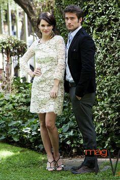 Sparrow (Sabrina Garcia) and Ian (Rodrigo Diaz) going out