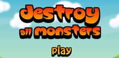 "Play the ""Destroy All Monsters"" Action game   #actiongame #Destroyallmonsters #flashgames"