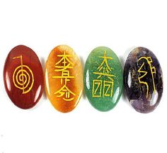 Reiki Healing Crystal Kit, 4 Usui Reiki Symbols Etched on Gemstones w/ Black Velvet Chakra Case, Set Includes Red Jasper, Golden Quartz, Green Aventurine, & Amethyst Enchanting Moon http://www.amazon.com/dp/B00EZ69JRK/ref=cm_sw_r_pi_dp_T.ZYtb0RCE6NTAA8