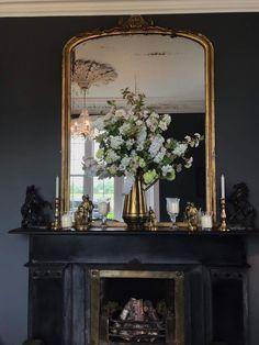 Hotel Floral Arrangement Hotel Decor, Floral Arrangements, Oversized Mirror, Wedding Flowers, Decor Ideas, Instagram, Flower Arrangements, Bouquet, Wedding Ceremony Flowers
