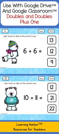 Two Digit Addition and Subtraction with Regrouping for Google ...