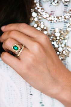 Emeralds & Diamonds.
