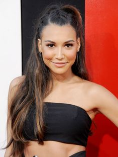 summer braids. Naya Rivera's Interesting Half-Up Braided Hairstyle Here's a cool 'n' casual way to keep your hair off your face while keeping all eyes on you—follow the gorgeous Glee actress's lead by parting the front of your hair into three sections and plaiting each one straight back, before securing them into mini ponytails. Adorable, right?