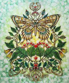 183 отметок «Нравится», 14 комментариев — Evgeniya (@evgeniya_coloring) в Instagram: «#dagdrömmar #hannakarlzon #hannakarlzondagdrömmar #sommarnatt #artecomoterapia #wonderfulcoloring…»