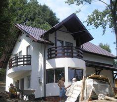 Constructii case prefabricate lemn - cum am construit casa de la Comarni...