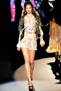 Anna Sui Spring 2012 Ready-to-Wear Fashion Show - Jac
