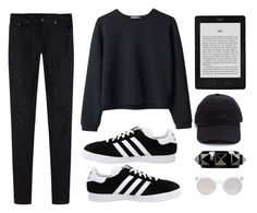 """#62"" by kawaii-llama ❤ liked on Polyvore featuring Organic by John Patrick, adidas, Valentino, Kosha and R13"