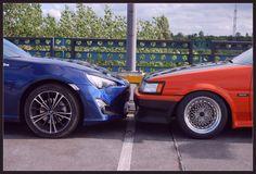 GT86 vs AE86