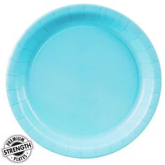 Pastel Blue (Light Blue) Dinner Plates